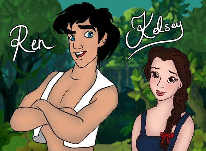 fffren_and_kelsey__disney_style_by_thesearchingeyes-d7fy197